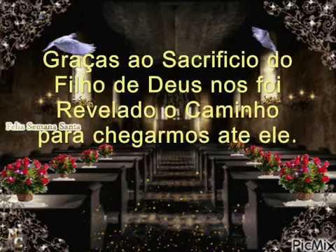 Video Mensagem Escrita para Semana Santa