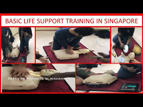 BASIC LIFE SUPPORT TRAINING IN SINGAPORE..