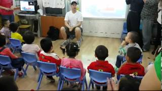 3 year old Kindergarten Parent Open Day class at Owen School Tianjin