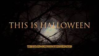 This Is Halloween - Massimo Nero (dark electronic gothic horror ambient)