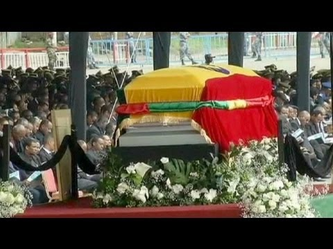 State funeral for Ethiopia's former prime minister - no comment