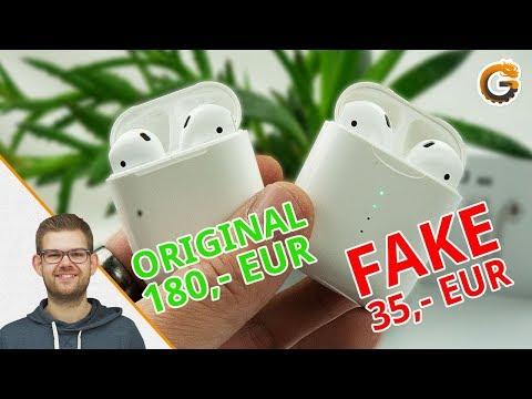35€ AirPods Fake: TWS i10 vs. Apple AirPods / DEUTSCH