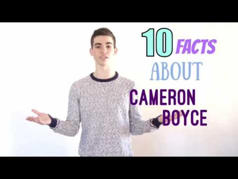 10 facts about Cameron Boyce