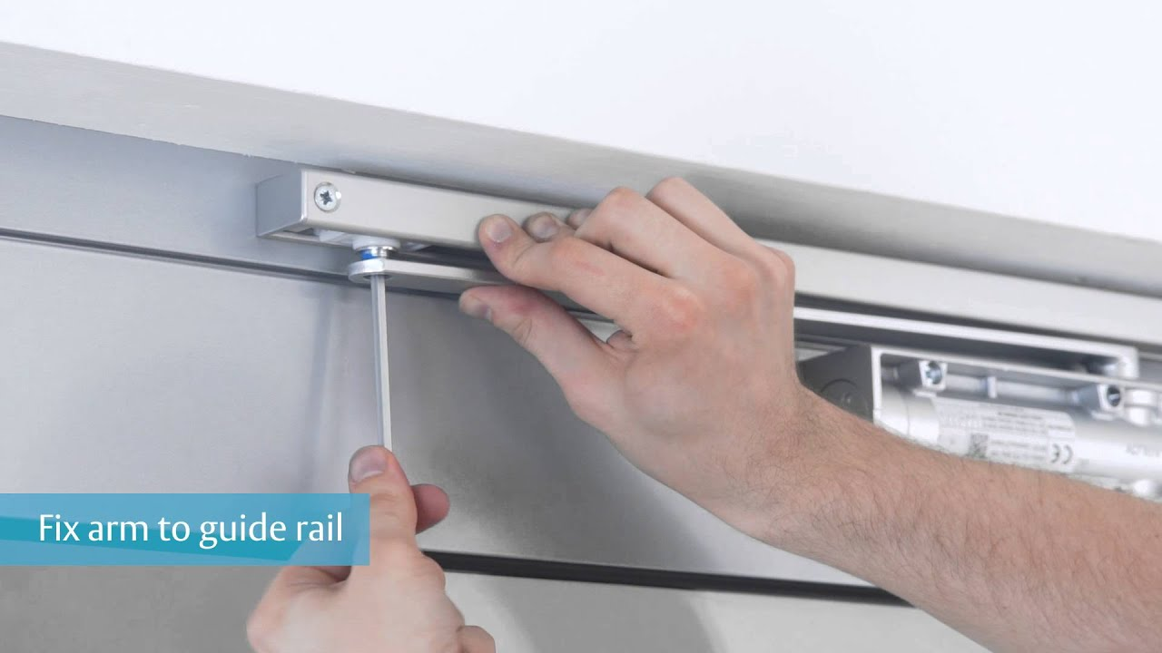 Assa Abloy Dc135 Door Closer Installation Guide Youtube