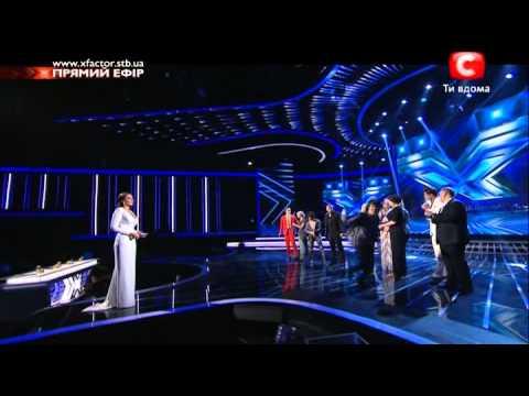 15 - Оглашение результатов X Factor 4 прямой эфир