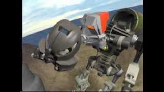 BIONICLE Animation -- Pohatu's Arrival