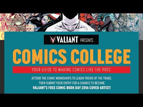 Comics College - How to Write Comics ft. Fred Van Lente