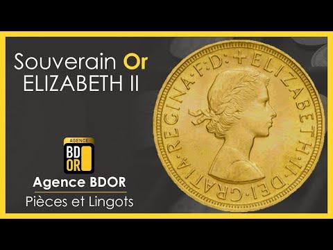 Piece Souverain Or Elisabeth II - Achat Vente Or - Agence BDOR - Gold Coin Sovereign
