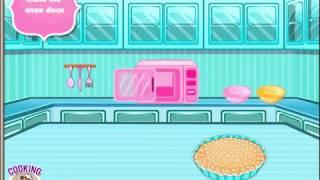 Бесплатные игры онлайн  Strawberry Hazelnut Tart Cooking Games  Игра готовка   готовим пирог с ягода