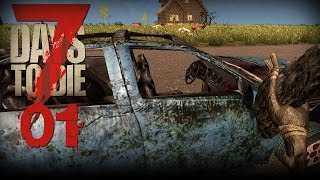 7 Days to Die [01] [Zeit für einen Neubeginn] [Let's Play Gameplay Deutsch German] thumbnail
