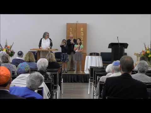 Shofar Blowing - Temple Israel Of London, Ontario - Sept 21, 2017