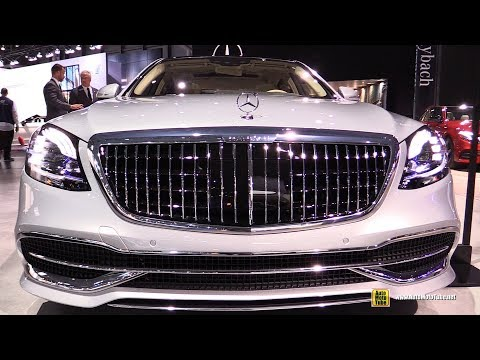 2019 Mercedes Maybach S560 with Digital Light Headlights - Walkaround - 2018 NY Auto Show