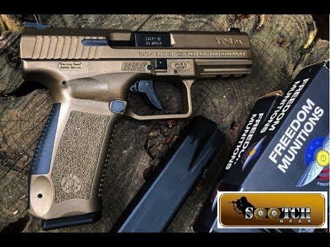 New Canik TP9 DA 9mm Pistol Review