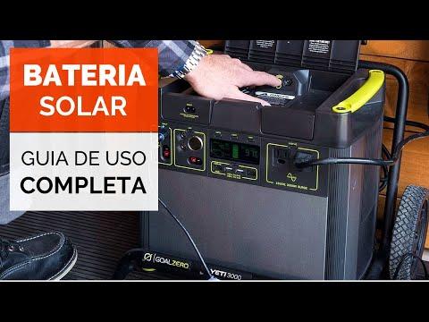 ENERGÍA GRATIS | Generador Eléctrico Solar Portátil ☀️ Goal Zero Yeti 3000