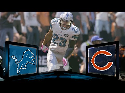 Madden NFL 17 Detroit Lions Franchise- Year 1 Game 4 at Chicago Bears