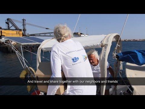 Aegean Cargo Sailing video