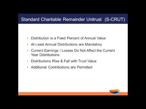 Benefits of the Charitable Remainder Trust and Charitable Lead Trust