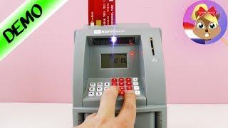 GELDAUTOMAAT VOOR THUIS! Bank Automaat Elektrische Spaarpot - Speel Met Mij Kinderen Speelgoed