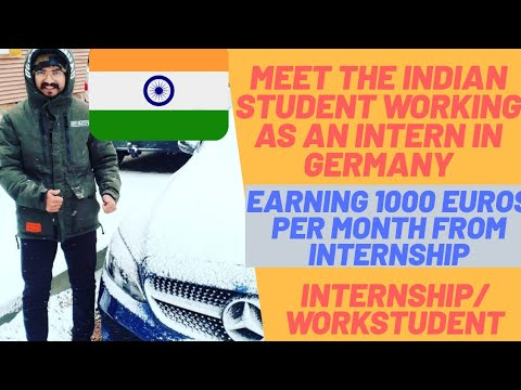 Life of An Intern In Germany || How Much Student Earn In Germany || Internship/Workstudent/Part Time