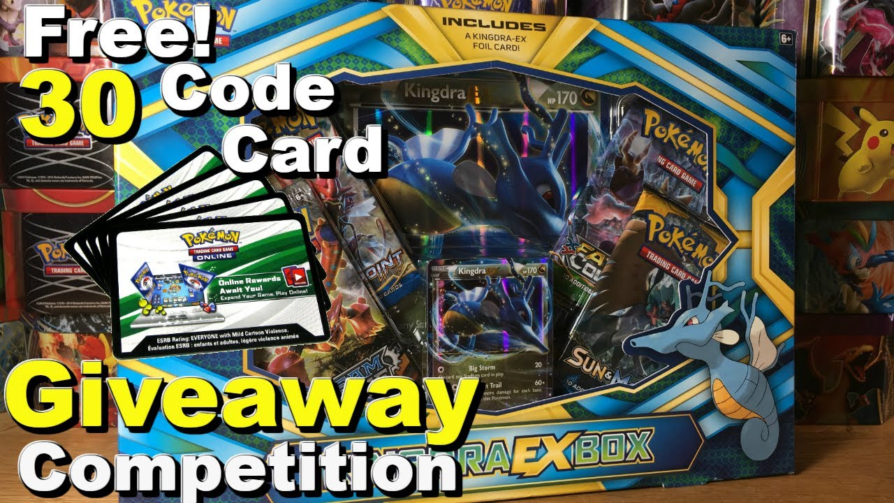 Free pokemon cards giveaway