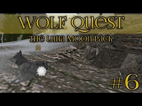 Wolf Quest 🐺 Searching for a Den! - Episode #6
