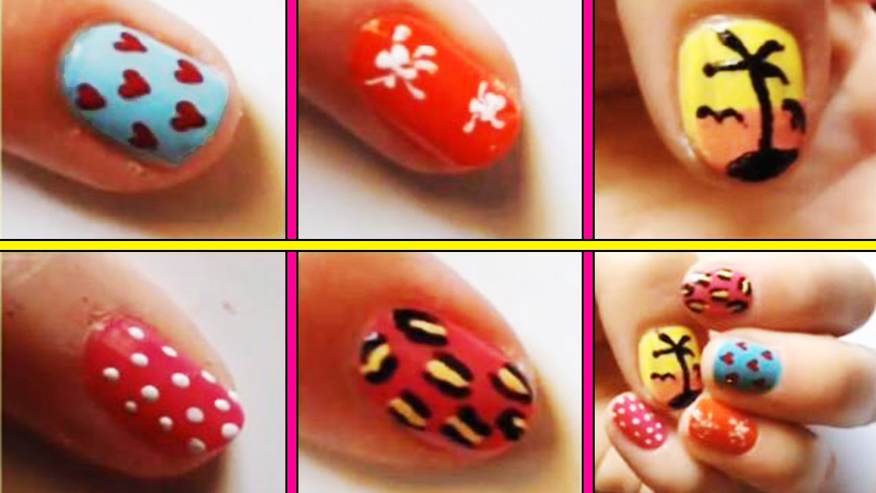 toothpick nail art