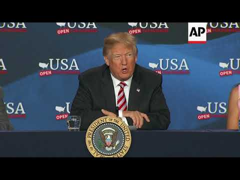 Trump: US Economy 'Starting to Rock'