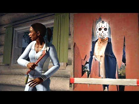 SHE DIDN'T SEE HIM COMING! (Friday the 13th)