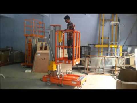 Aerial Work Platform - Single Mast | Material Handling - Nido Machineries