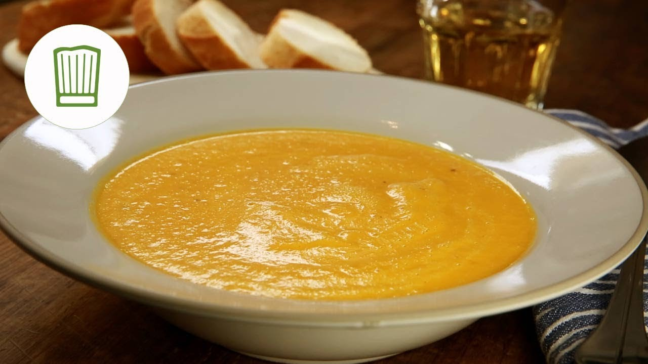 möhren-ingwer-suppe rezept #chefkoch - youtube - Kürbissuppe Rezept Chefkoch