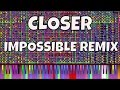 Download IMPOSSIBLE REMIX - Closer - The Chainsmokers ft. Halsey - Piano Cover MP3 song and Music Video