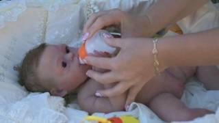 Обложка на видео о Кукла реборн коллекционная из силикона