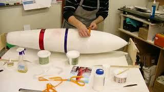 делаем модель ракеты своими руками