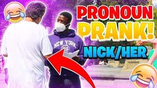 NEOPRONOUN PRANK IN PUBLIC! (NYC)