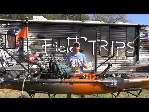 How To Rig Your Fishing Kayak - Wilderness Systems Radar 135 | Field Trips VLOG