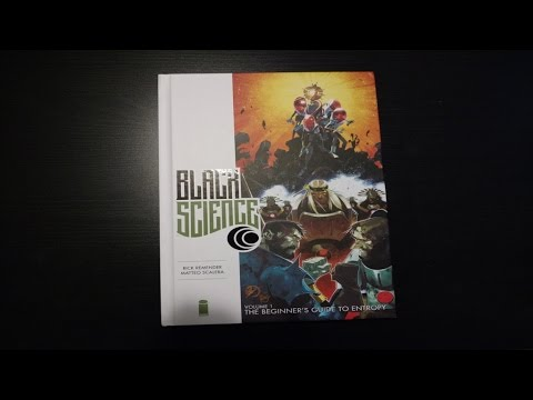 Black Science Premiere Hardcover Vol. 1 Overview