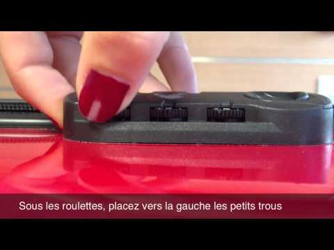 9f7bd1faf7 Débloquer son cadenas de valise - YouTube