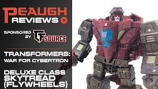 Video Review: Transformers: War for Cybertron SIEGE - Deluxe Class SKYTREAD