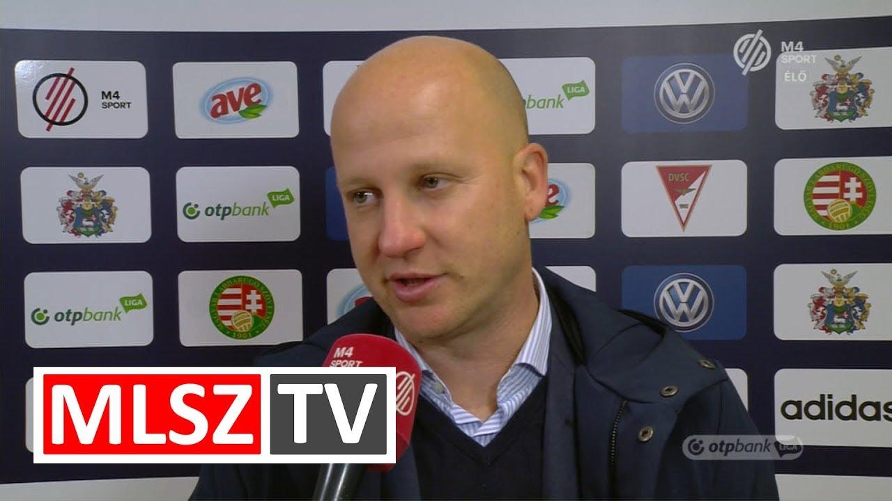 Edzői értékelések a DVSC - Videoton FC mérkőzésen