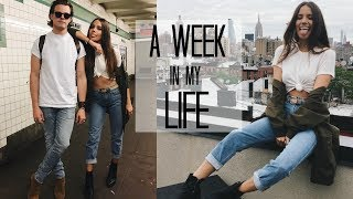 A WEEK IN MY LIFE: 1 | Life in NYC + BDAY Party