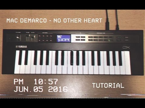MAC DEMARCO - NO OTHER HEART ( PIANO TUTORIAL ) mp3
