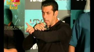 Salman Khan GETS ANGRY with media on questions ...