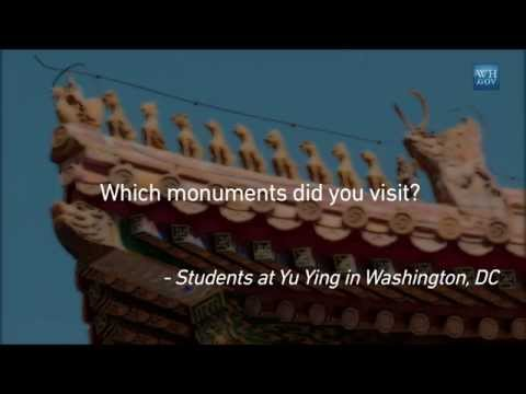 First Lady Michelle Obama Answers Your Questions From China: which monuments did you visit?