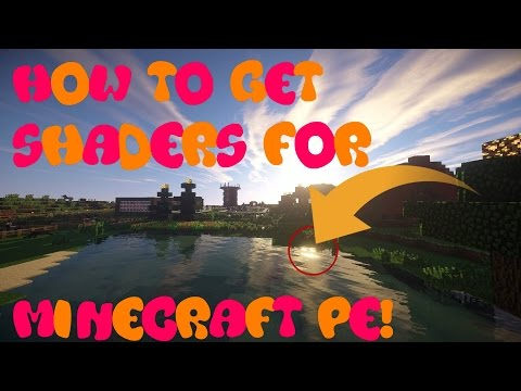 minecraft how to get to shaders
