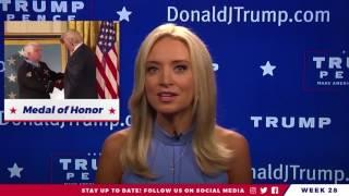 Kayleigh McEnany Leaves CNN & Joins Team Trump! Weekly Update 8/6/17