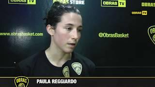 Paula Reggiardo post Obras Basket 81-47 Vélez Sársfield (24-6-2017)