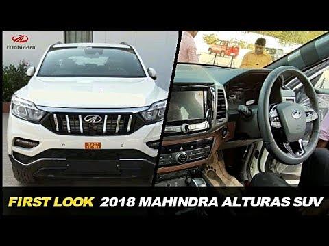 First Look 2018 Mahindra Alturas G4 Suv Exterior Interior Fully
