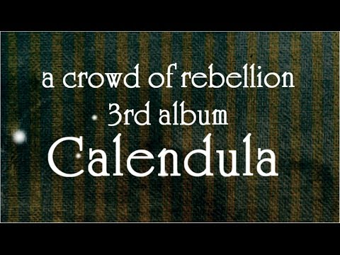a crowd of rebellion - 3rd album 「Calendula」 short trailer