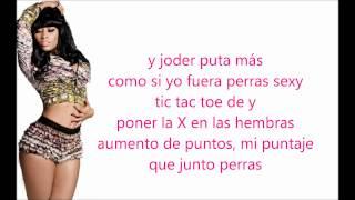 Nicki minaj mercy verso en español
