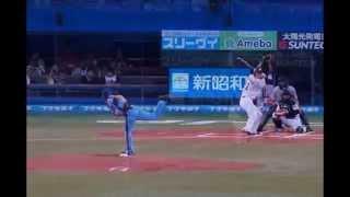 日テレGoing!の企画で 亀梨和也1打席対決が2013/8/15 QVCマリンフィール...